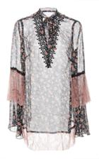 Anna Sui Lilies Of The Valley Tunic