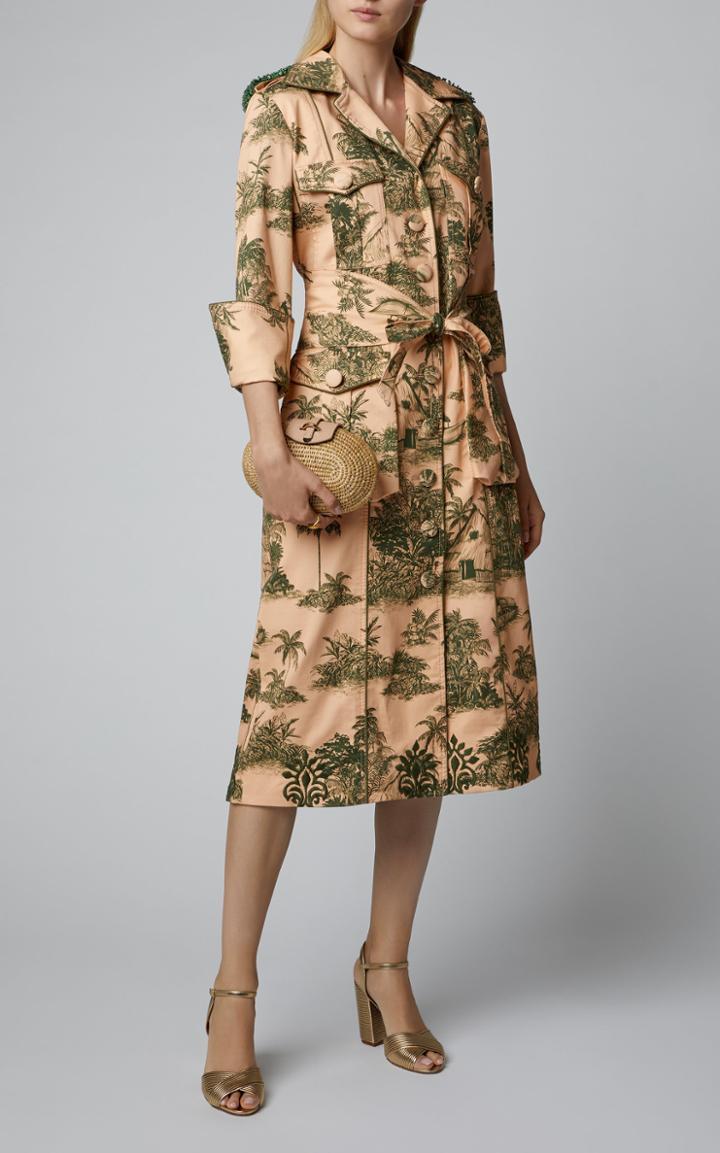 Khokho Lindi Leather-trimmed Straw Shoulder Bag