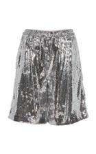 N21 Sofia Sequined Relaxed Shorts