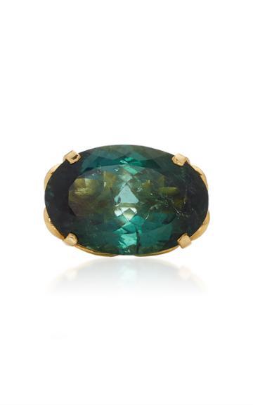 Christina Alexiou Green Tourmaline Ring