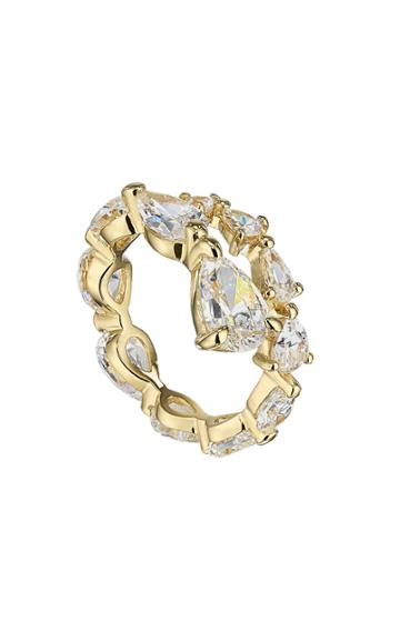 Moda Operandi Anabela Chan 18k Yellow Gold Diamond Coil Ring