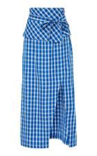 Sea Obi Belted Pencil Skirt
