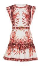 Moda Operandi Zimmermann Wavelength Fluted Mini Dress Size: 0