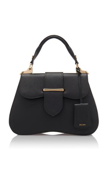 Prada Large Saffiano Leather Cartella Bag