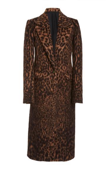 Moda Operandi Marina Moscone Printed Cady Coat