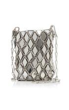 Paco Rabanne Losange 69 Mini Metallic Tiled Brass Bag