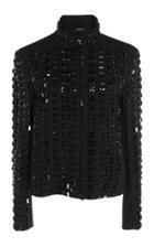 Akris Embellished Wool-blend Dress