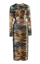 Moda Operandi Area Printed Midi Dress