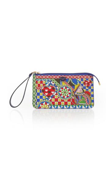 Dolce & Gabbana Zip Wallet With Wrist Strap