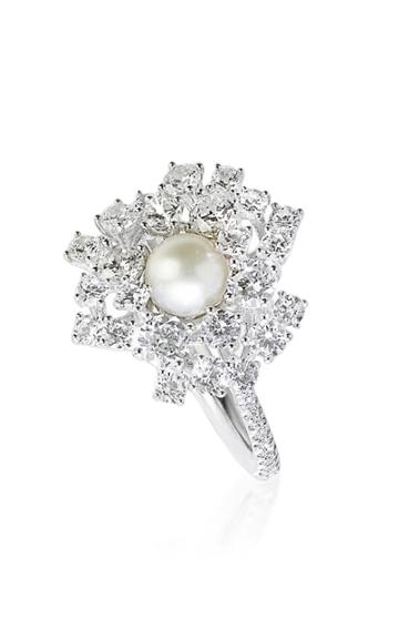 Tatiana Verstraeten Rain Pearl Wedding Ring