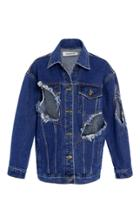 Kimhekim Distressed Denim Jacket