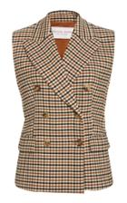 Moda Operandi Michael Kors Collection Double-breasted Gabardine Vest