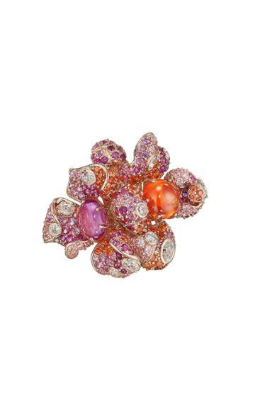 Moda Operandi Anabela Chan 18k Rose Gold Sunset Blossom Ring