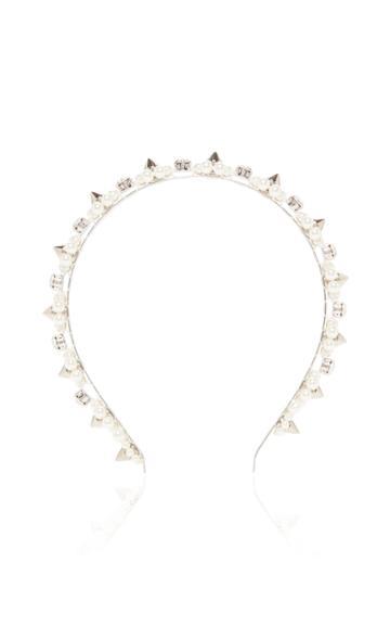 Simone Rocha Pearl And Crystal Embellished Headband