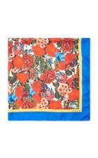 Marni Floral-print Silk-satin Scarf