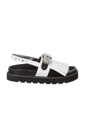 Dorothee Schumacher Buttoned Brilliance Sandal