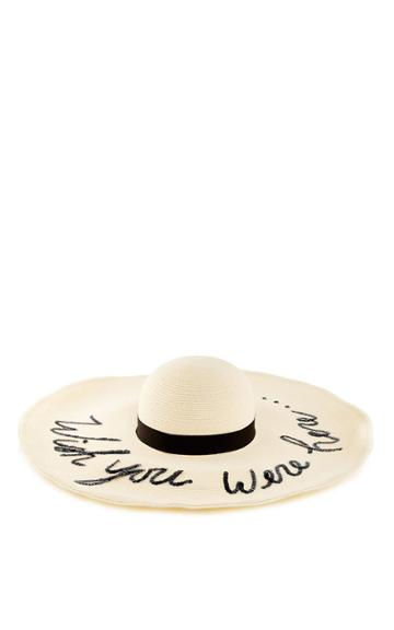Eugenia Kim M'o Exclusive: Limited Edition Customizable Sunny Hat