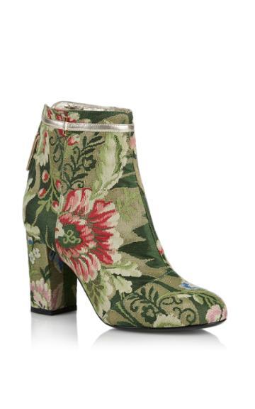 Rubeus Milano Lampasso Brocade Ankle Boot