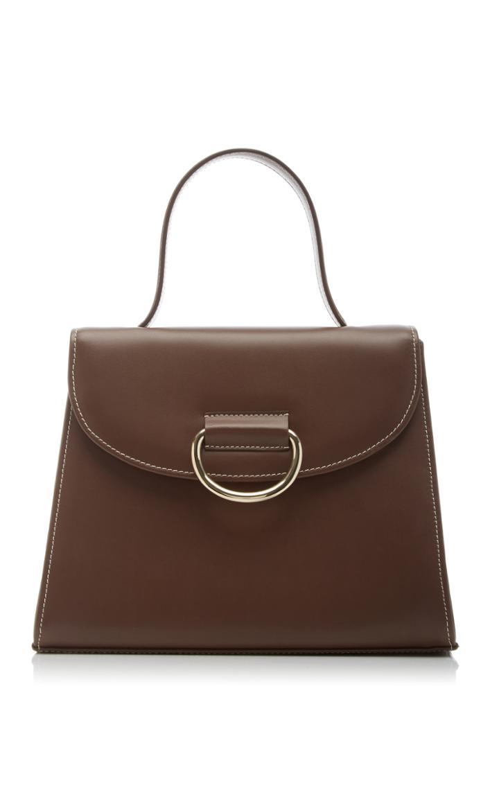 Moda Operandi Little Liffner Lady Leather Top Handle Bag