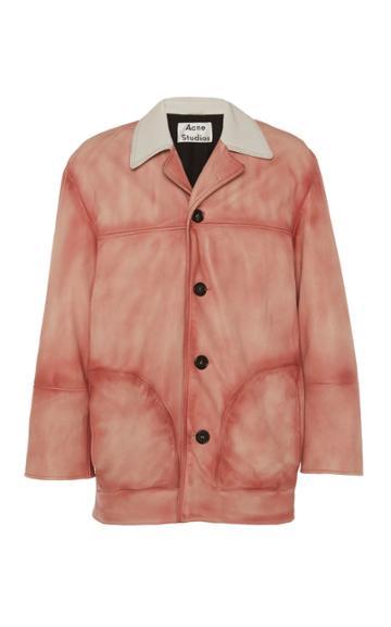 Acne Studios Lance Leather Coat