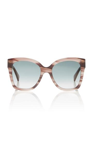 Gucci Sunglasses Marbled Acetate Square-frame Sunglasses
