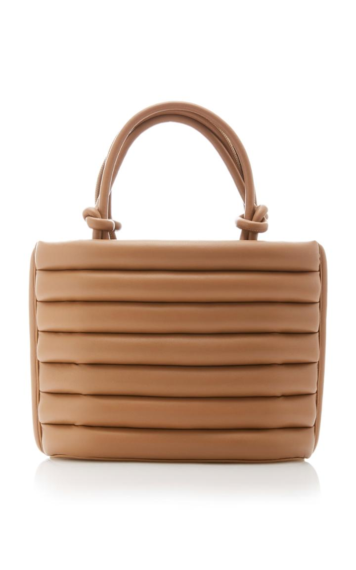 Moda Operandi Staud Louie Striped Leather Tote