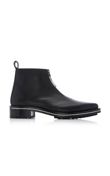 Givenchy Richmond Zip Calfskin Ankle Boots