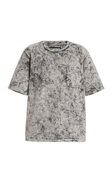 Monitaly Oversized Tie-dyed Cotton T-shirt