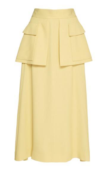 Cyclas Flap Pocket Twill Skirt