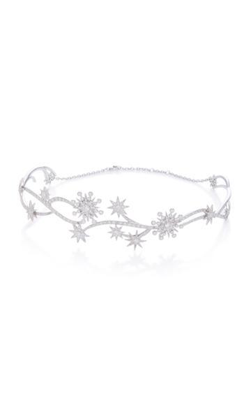 Colette Jewelry 18k White Gold Diamond Choker