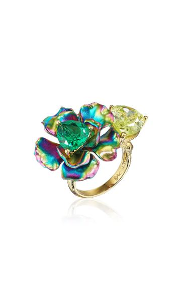 Moda Operandi Anabela Chan Citrus Rainbow Bloom Ring