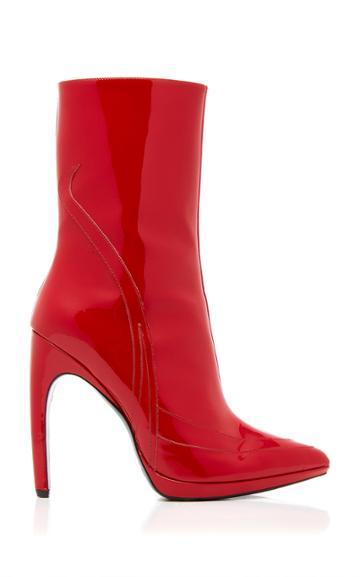 Rodarte Patent Ankle Boot