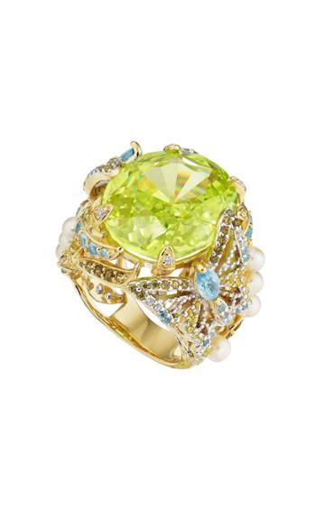 Moda Operandi Anabela Chan 18k Gold & White Gold Lemon Swallowtail Ring