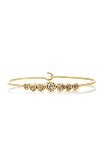 Christina Alexiou Articulated Rose-cut Diamond Bracelet