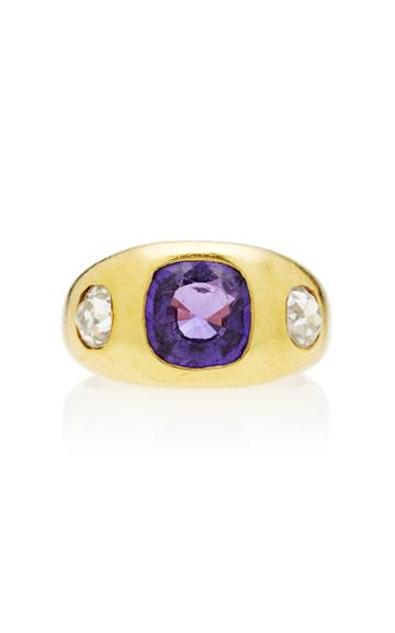Toni + Chlo Goutal One-of-a-kind Gypsy Purple Sapphire Ring
