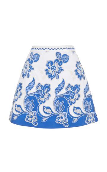 Alexis Gala Floral Mini Skirt