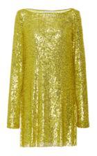 Moda Operandi Naeem Khan Sequin Embellished Mini Dress Size: Xs