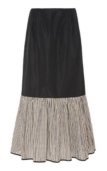 Brgger Emilie Ruched Midi Skirt