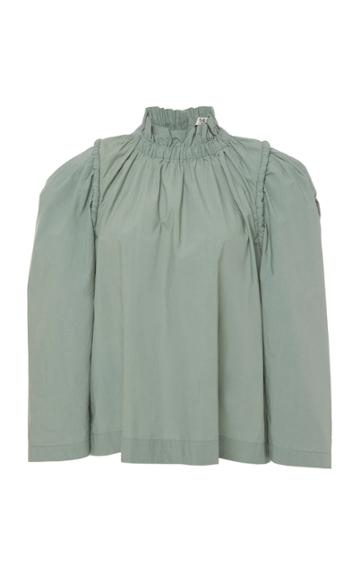 Sea Sienne Cotton 3/4 Sleeve Blouse