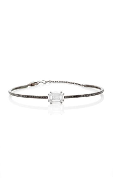 As29 Illusion Diamond Cuff With Chain