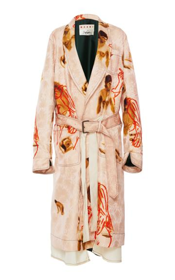 Marni Motif Duster Coat