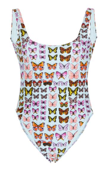 Versace Butterfly Printed Swimsuit