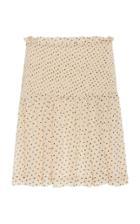 Ganni Georgette Ruffled Skirt