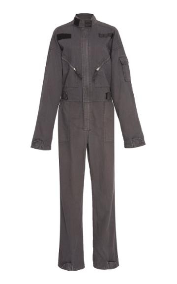 Re/done Cargo Cotton Coveralls
