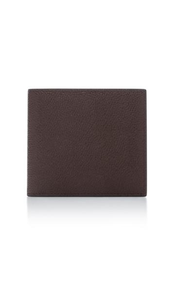 Thom Browne Pebble Grain Leather Billfold Wallet