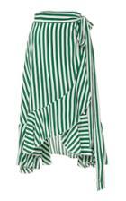 Faithfull Tramonti Striped Midi Skirt