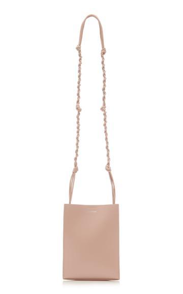 Jil Sander Small Tangle Leather Crossbody Bag