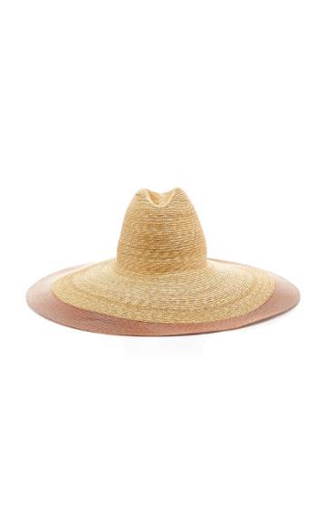Gigi Burris M'o Exclusive Bronze Bay Straw Hat