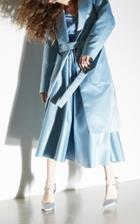 Rochas Long Duchesse Coat