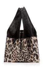 Paco Rabanne Leopard Mesh Handbag